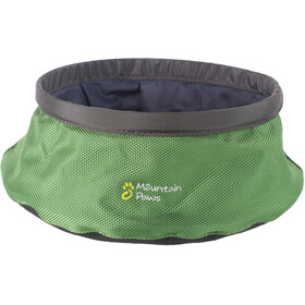 Mountain Paws Water bowl Animal Crate L foldable grey/green